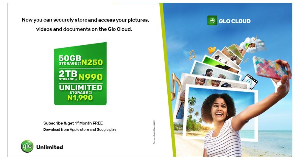 Glo cloud Banner